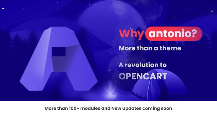 Antonio Admin Theme 2.2 | More than 100 modules in One