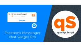 Facebook Messenger chat widget Pro