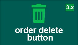 Order delete button for opencart 3