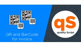 QR and BarCode for invoice