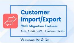 Customer Import/Export Suite