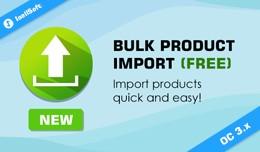 Bulk Product Import Free
