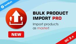 Bulk Product Import PRO