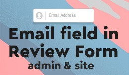 Add email field to Review Form