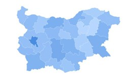 Bulgarian Map for the admin Dashboard