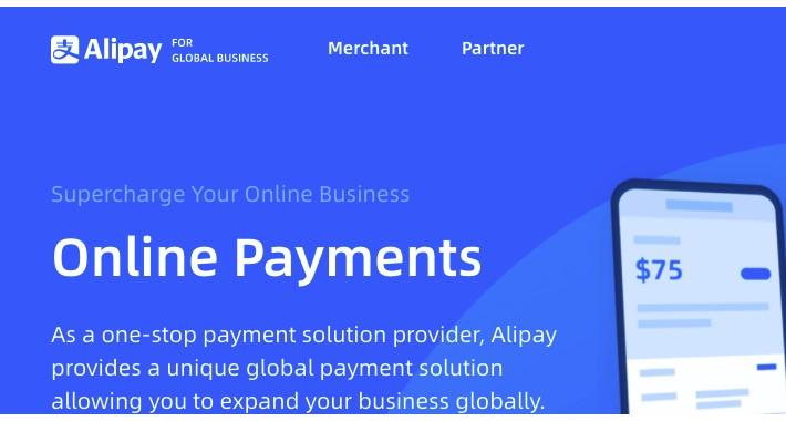 Global Alipay Gateway(Alipay HK / Alipay Cross Border)