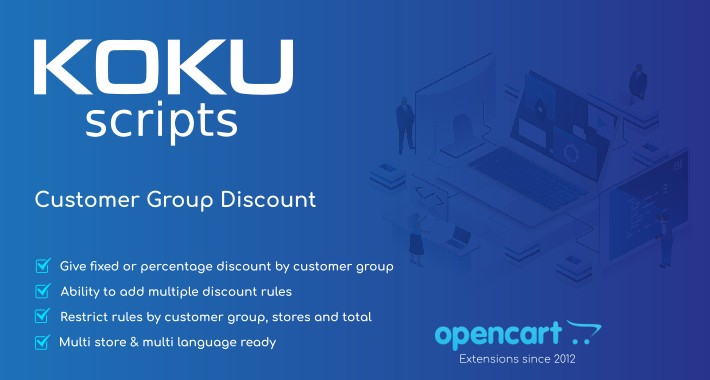 Customer Group Discount