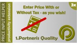 Price Input Helper  3 - enter prices with tax in..