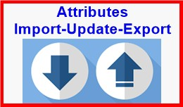 Attributes Import-Update-Export