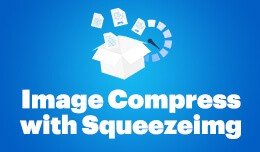 Image Compress with Squeezeimg (support v. 1.5-3..