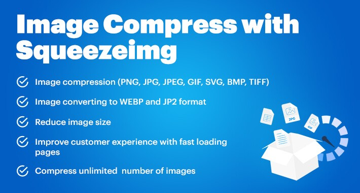 Image Compress with Squeezeimg (support v. 1.5-3.*)