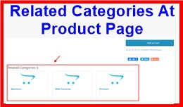 Related Categories At Product Page