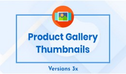 Product Gallery Thumbnails With Quick View
