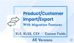Product and Customer Import/Export Suite