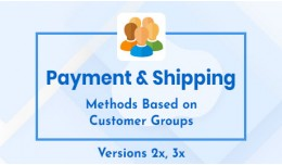 Payment & Shipping Methods Based On Customer..