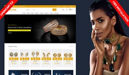 Elora Diamond & jewellery  eCommerce Website..