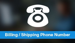 Shipping & Billing Telephone Number