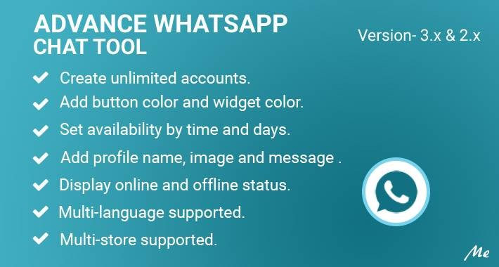 Advance Whatsapp Chat Tool