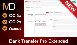 Bank Transfer Pro Extended