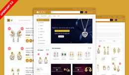 Axis Jewelry Ecommerce Template (Free Installati..