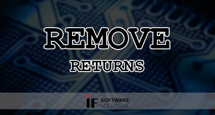 Remove Returns