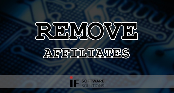 Remove Affiliates