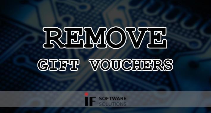 Remove Gift Vouchers