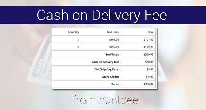 Cash on Delivery Fee ($10 cashback offer)