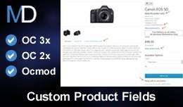 Custom Product Fields
