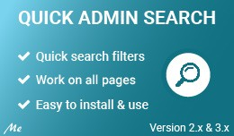 Quick Admin Search