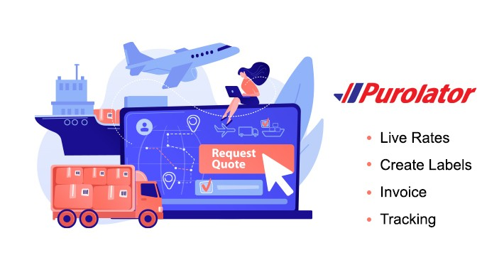 Purolator Shipping with Print Label