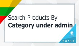 Search Products By Category  In Admin - autocomp..