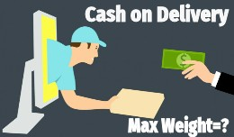 Cash on Delivery - Restriction by Max Weight