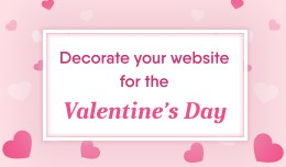 Falling hearts for Valentine's Day - Decorate yo..