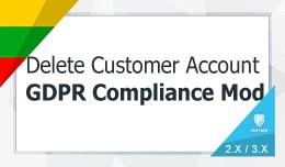 Delete / Close Customers Account - GDPR Complian..