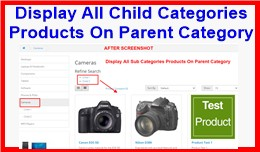 Display All Child Categories Products On Parent ..
