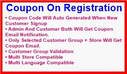 Coupon On Registration