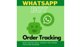 WhatsApp Chat Bot to track the order
