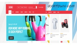 Fitness & Gym Workout-1 responsive opencart ..
