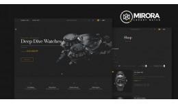 Model watch OpenCart 3.X Multistore Theme (Free ..