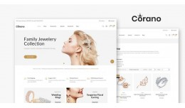 Jewelry OpenCart 3.X Multistore Theme (Free Inst..