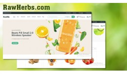 Organic - vegetables and fruits shop responsive ..