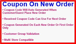 Coupon On New Order