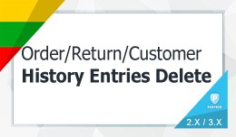 Order History Delete / User (History Transaction..