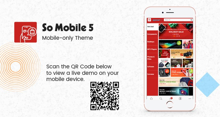 So Mobile 5 - Multipurpose OpenCart Mobile Theme
