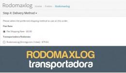 Transportadora Rodomaxlog para Opencart