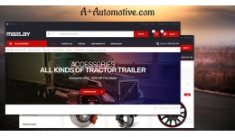 Car Parts Store & Auto Services responsive o..