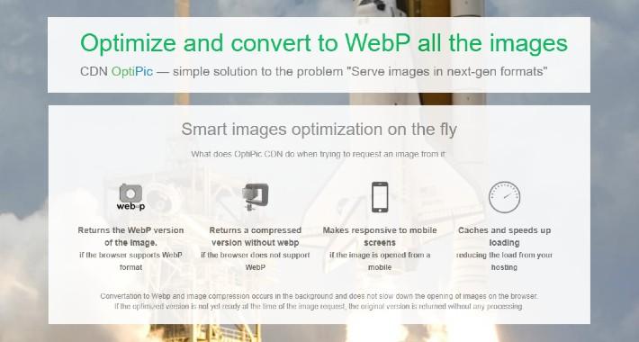 OptiPic images optimization