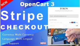 Stripe Checkout for OpenCart 3 (3D Secure)