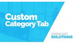 Custom Category Tab